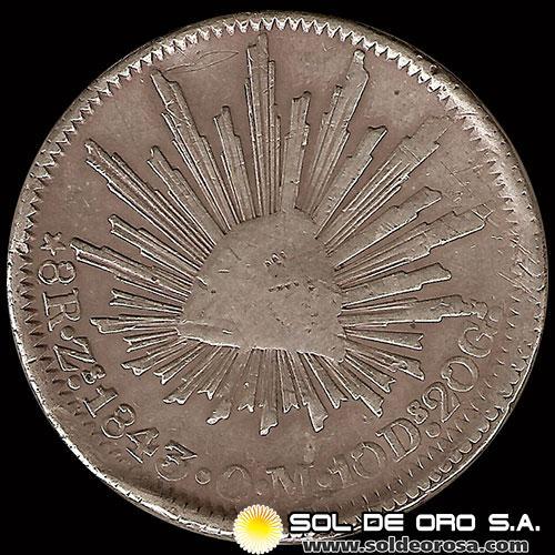 1d84f455db18 Sol de ORO S.A. - REPÚBLICA DE MÉXICO - 8 REALES
