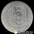 NA1 - ALEMANIA - 5 MARK - 1966 D - Subject: 250 th Anniversary - Death of Gottfried Wilhelm Leibniz - MONEDA DE PLATA