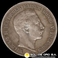 ALEMANIA - 5 MARK - AÑO: 1902 - PREUSSEN - GERMAN STATES