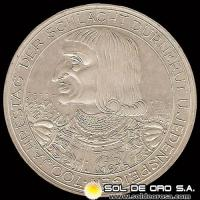AUSTRIA - 100 SCHILLING, 1978 (Subject: 700th Anniversary - Battle of Durnkrut and Jedenspeigen) - MONEDA DE PLATA