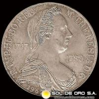 AUSTRIA - 25 SCHILLING, 1967 - Subject: 250 th Anniversary-Birth of María Theresa, Empress - MONEDA DE PLATA
