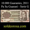 Billetes 2011 3- 10.000 Guaraníes