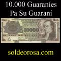 Billetes 2005 3- 10.000 Guaraníes