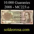Billetes 2008 3- 10.000 Guaraníes
