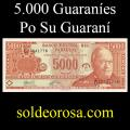 Billetes 2003 2- 5.000 Guaraníes