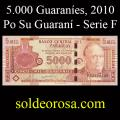 Billetes 2010 1- 5.000 Guaraníes