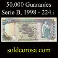 Billetes 1998 3- 50.000 Guaraníes