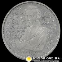 NA1 - ALEMANIA - GERMANY - FEDERAL REPUBLIC - 10 MARK / 10 MARCOS, 1997 D - Subject: 200 th Birth Anniversary - Heinrich Heine - MONEDA DE PLATA